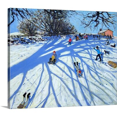 'The Shadow Derbyshire' by Andrew Macara Painting on Canvas Size: 25