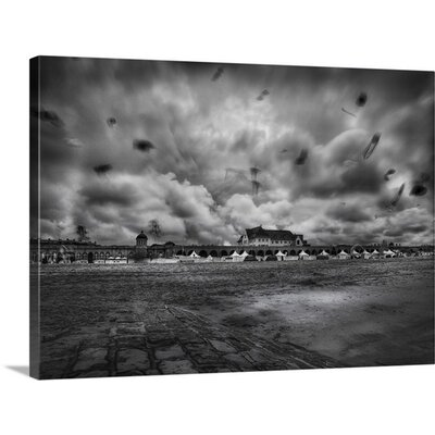 """Crazy Kites by Yvette Depaepe Photographic Print on Canvas Size: 17"""" H x 24"""" W x 1.5"""" D"""
