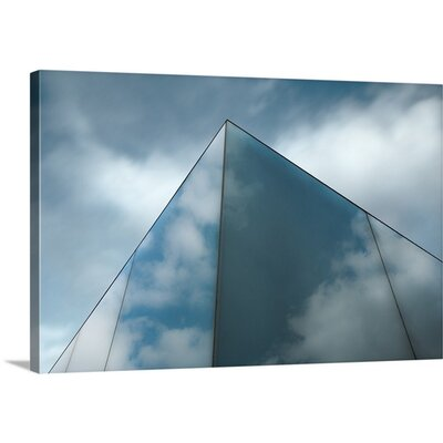 Skyreflect by Gilbert Claes Photographic Print on Canvas Size: 16