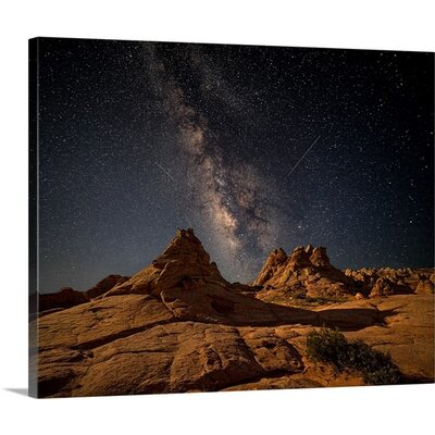 Under the Milky Way by John Fan Photographic Print on Canvas Size: 16