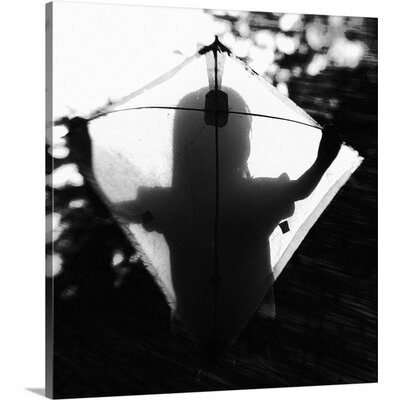 "'Fly a Kite' by Jay Satriani Photographic Print on Canvas Size: 36"" H x 34"" W x 1.5"" D"