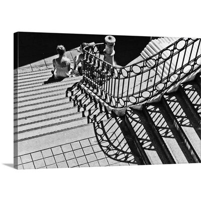 Confidential Stairs by Laura Mexia Photographic Print on Canvas Size: 40