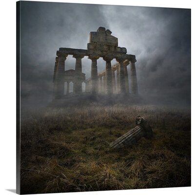 "Glorious Past by Heaven Man Photographic Print on Canvas Size: 16"" H x 16"" W x 1.5"" D 2354571_1_16x16_none"