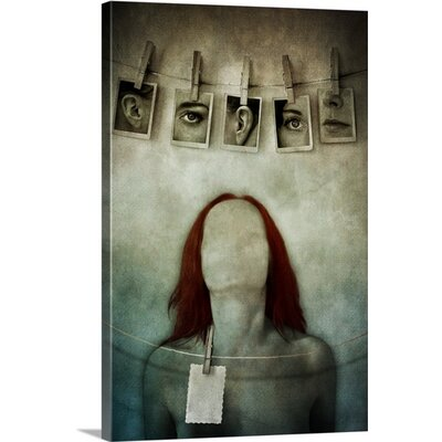 I Can't Find Myself by Lucynda Lu Wall Art on Canvas Size: 30