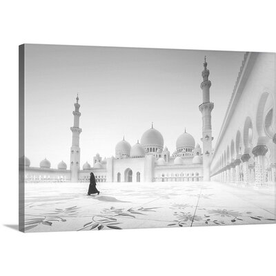 Sheikh Zayed Mosque by Hussain Buhligaha Photographic Print on Canvas