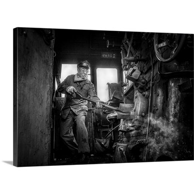 'Fueling the Fires' by Herion Jean-Claude Photographic Print on Canvas 2356670_1_24x17_none