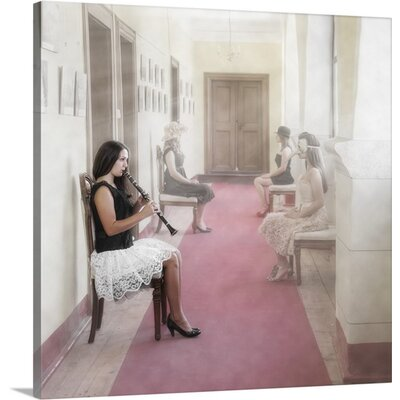'Waiting Room for Creative Folks' by Roswitha Schleicher-Schwarz Photographic Print on Canvas 2356826_1_16x16_none