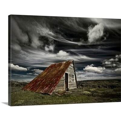 'Weathered' by Azorsteinn H. Ingibergsson Photographic Print on Canvas 2356549_1_24x17_none
