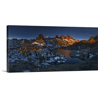 Minaret Lake: First Light by Yan Zhang Photographic Print on Canvas Size: 14
