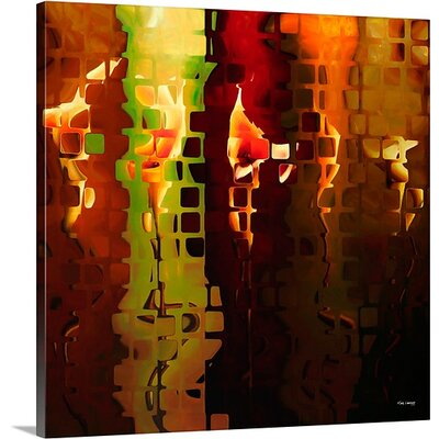 'Modern Tile Art #6, 2008' by Mark Lawrence Graphic Art on Canvas Size: 35