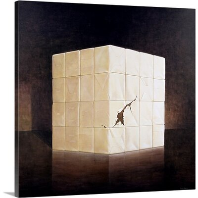 'One Ton of Marijuana, 2004' by Lincoln Seligman Painting Print on Canvas Size: 30