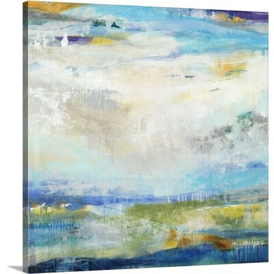 'Atmosphere I' by Jill Martin Painting Print on Wrapped Canvas Size: 48