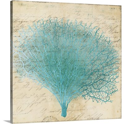 Coral III by PI Studio Graphic Art on Wrapped Canvas Size: 24