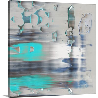 Swim II by PI Galerie Painting Print on Wrapped Canvas 2371565_1_16x16_none