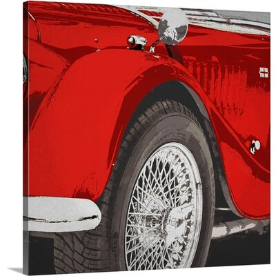 Handsome by PI Studio Graphic Art on Wrapped Canvas Size: 16
