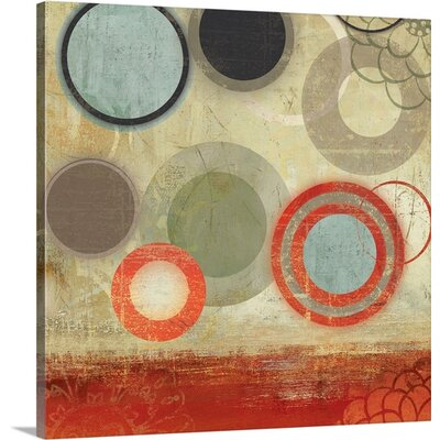 Tango I by PI Studio Painting Print on Wrapped Canvas Size: 20