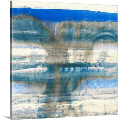 Swim I by PI Galerie Painting Print on Wrapped Canvas 2371861_1_16x16_none