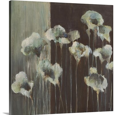 'Azure' by Terri Burris Painting Print on Canvas Size: 16