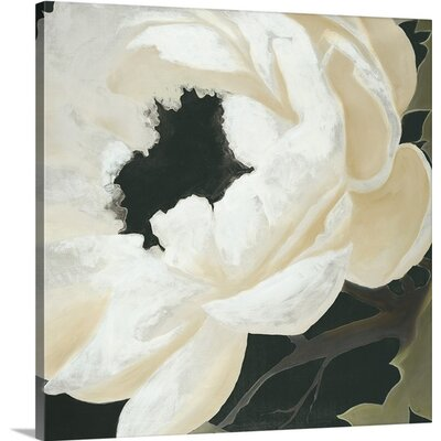 'Floral Study' by KC Haxton Painting Print on Canvas Size: 30