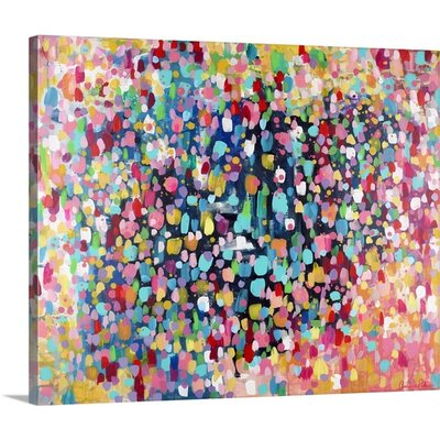 Dance, Dance, Dance' by Amira Rahim Painting on Wrapped Canvas 2416506_1_48x38_none