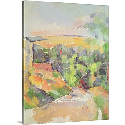 'The Bend in the road' Oil Painting Print on Canvas BAL244986_29_12x16_none