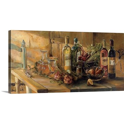 """'Fruits of the Valley' by Marilyn Hageman Painting Print on Wrapped Canvas Size: 8"""" H x 16"""" W x 1.5"""" D, Format: Canvas 1052857_1_16x8_none"""