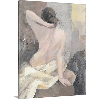 "After the Bath I"" by Albena Hristova Painting Print on Wrapped Canvas Size: 24"" H x 18"" W x 1.5"" D 2433945_1_18x24_none"