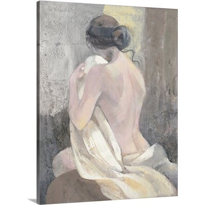 "After the Bath II"" by Albena Hristova Painting Print on Wrapped Canvas Size: 48"" H x 36"" W x 1.5"" D 2433946_1_36x48_none"