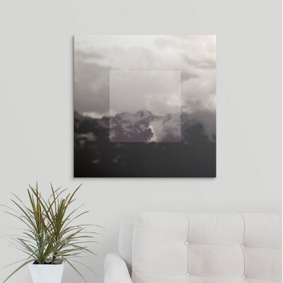 'Framed Landscape IV' by Laura Marshall Photographic Print on Wrapped Canvas 2434034_1_24x24_none