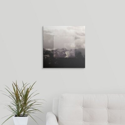 'Framed Landscape IV' by Laura Marshall Photographic Print on Wrapped Canvas 2434034_1_16x16_none