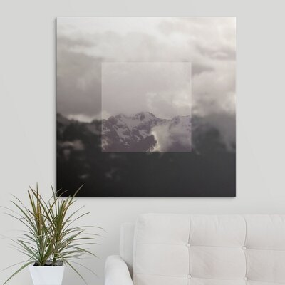 'Framed Landscape IV' by Laura Marshall Photographic Print on Wrapped Canvas 2434034_1_30x30_none