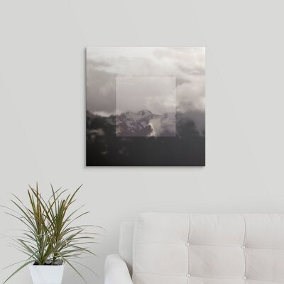 'Framed Landscape IV' by Laura Marshall Photographic Print on Wrapped Canvas 2434034_1_20x20_none