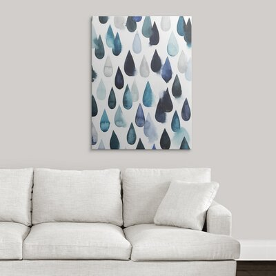 decorative accents - Great Big Canvas 'Water Drops II' Grace Popp Graphic Art Print - Great Big Canvas Wall Art