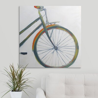 'Bicycle Diptych II' Grace Popp Painting Print