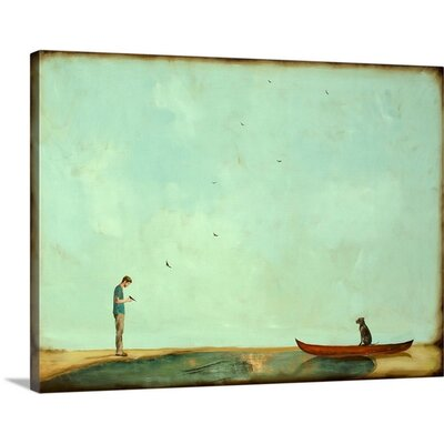 Day Training by Alicia Armstrong Painting Print on Wrapped Canvas 2381358_29_16x12_none