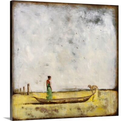 Game Changer by Alicia Armstrong Painting Print on Wrapped Canvas 2381378_1_35x35_none