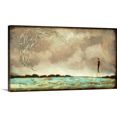 Coming to Fruition by Alicia Armstrong Painting Print on Wrapped Canvas 2381346_1_24x14_none