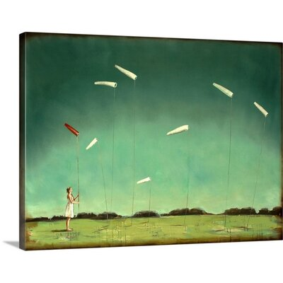 From Here on by Alicia Armstrong Painting Print on Wrapped Canvas 2381377_1_30x23_none
