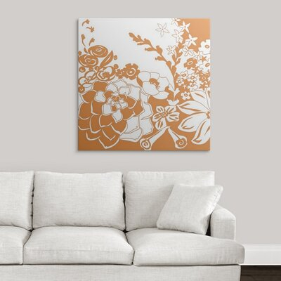 'Vibrant Tokyo Garden III' by Chariklia Zarris Graphic Art on Wrapped Canvas 1138823_1_35x35_none