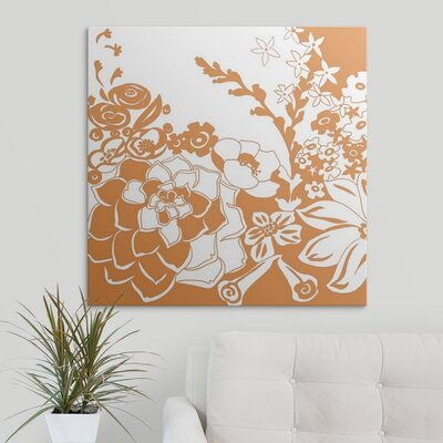 'Vibrant Tokyo Garden III' by Chariklia Zarris Graphic Art on Wrapped Canvas 1138823_1_30x30_none