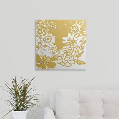 'Vibrant Tokyo Garden II' by Chariklia Zarris Graphic Art on Wrapped Canvas 1138822_1_20x20_none