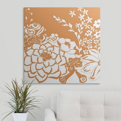 'Vibrant Tokyo Garden IV' by Chariklia Zarris Graphic Art on Wrapped Canvas 1138824_1_30x30_none