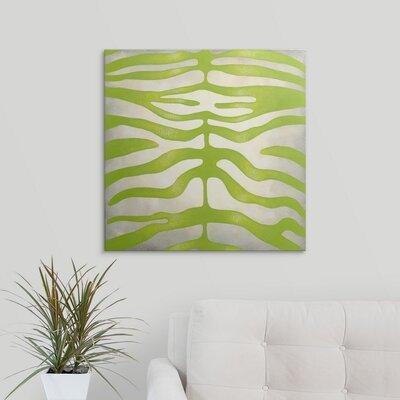 'Vibrant Zebra III' by Chariklia Zarris Graphic Art on Canvas 2445555_1_24x24_none