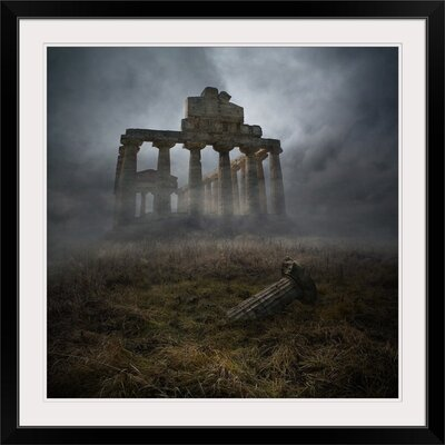 "'Glorious Past by Heaven Man Photographic Print Format: Black Frame, Size: 17"" H x 17"" W x 1"" D 2354571_15_12x12_none"