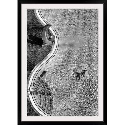 "'Swimming Pool' by Jure Kravanja Photographic Print Format: Black Frame, Size: 41"" H x 29"" W x 1"" D 2354071_15_24x36_none"