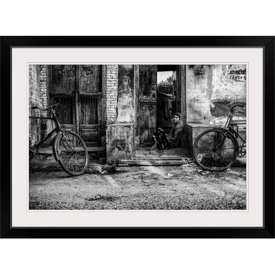 """'Two Wheels' by Mohammed Alnaser Photographic Print Format: Black Frame, Size: 25"""" H x 35"""" W x 1"""" D 2356819_15_30x20_none"""