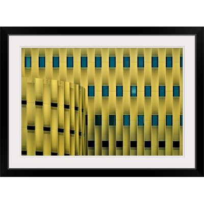 """'The Cope by Henk Van Maastricht Graphic Art Print Format: Black Frame, Size: 17"""" H x 23"""" W x 1"""" D 2352424_15_18x12_none"""