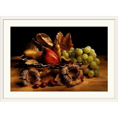 """'Natura Morta by Stefano Paolini Photographic Print Format: White Frame, Size: 17"""" H x 23"""" W x 1"""" D 2352095_21_18x12_none"""