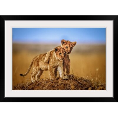 "'Brothers for Life' by Jeffrey C. Sink Photographic Print Format: Black Frame, Size: 29"" H x 41"" W x 1"" D 2357272_15_36x24_none"