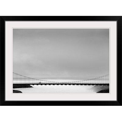 "'The Bridge' by Markus Kuhne Photographic Print Format: Black Frame, Size: 17"" H x 23"" W x 1"" D 2355806_15_18x12_none"